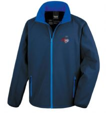 Offizielles Lizenziertes Ford Mustang Vintage RWB  Softshell-Rennjacke